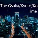大阪・京都・神戸で撮影したタイムラプスをまとめました。