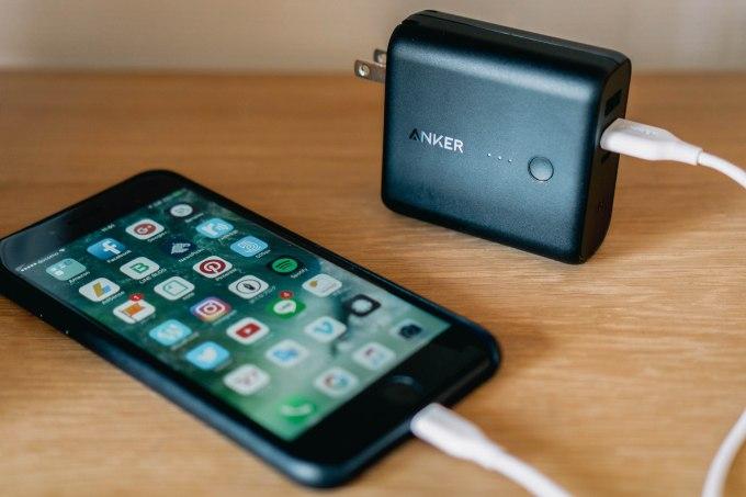 1台で2役こなすハイブリッドなモバイルバッテリー Anker「PowerCore Fusion 5000」 #iPhone7Plus