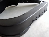 Sprayed Forward Fenders with Bed Liner