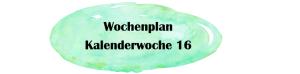 Essensplan – KW 16 – 2019