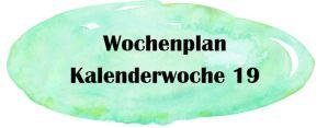 Essensplan – KW 19 – 2019