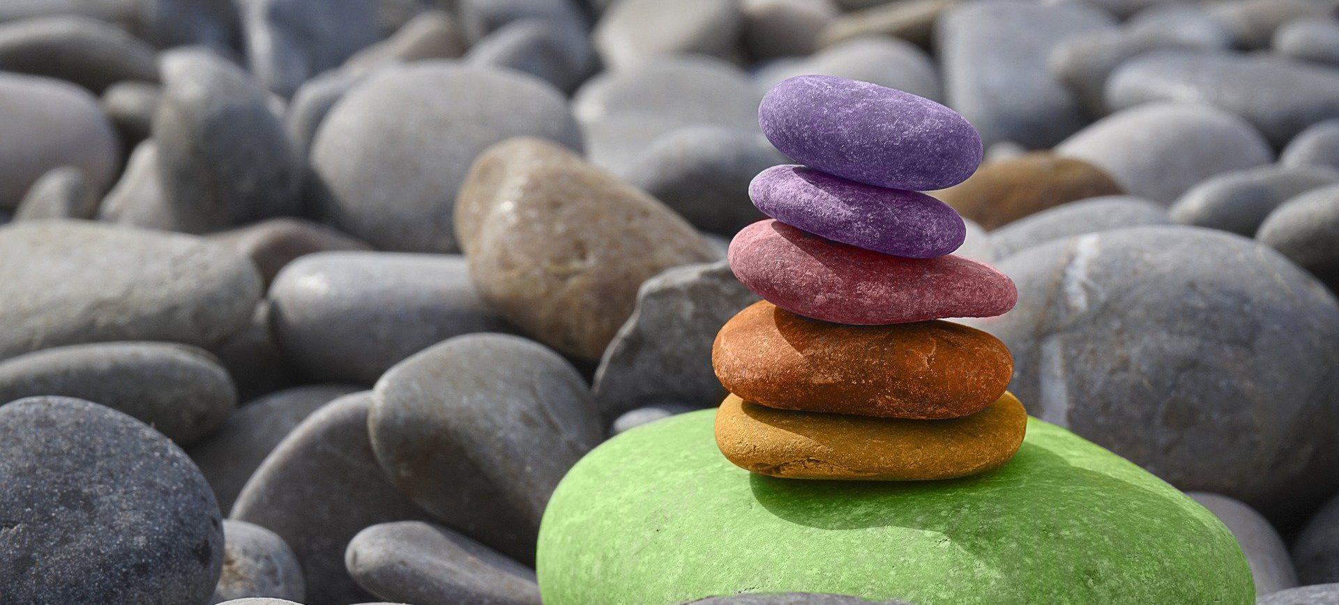 DIY Steine bemalen und verstecken