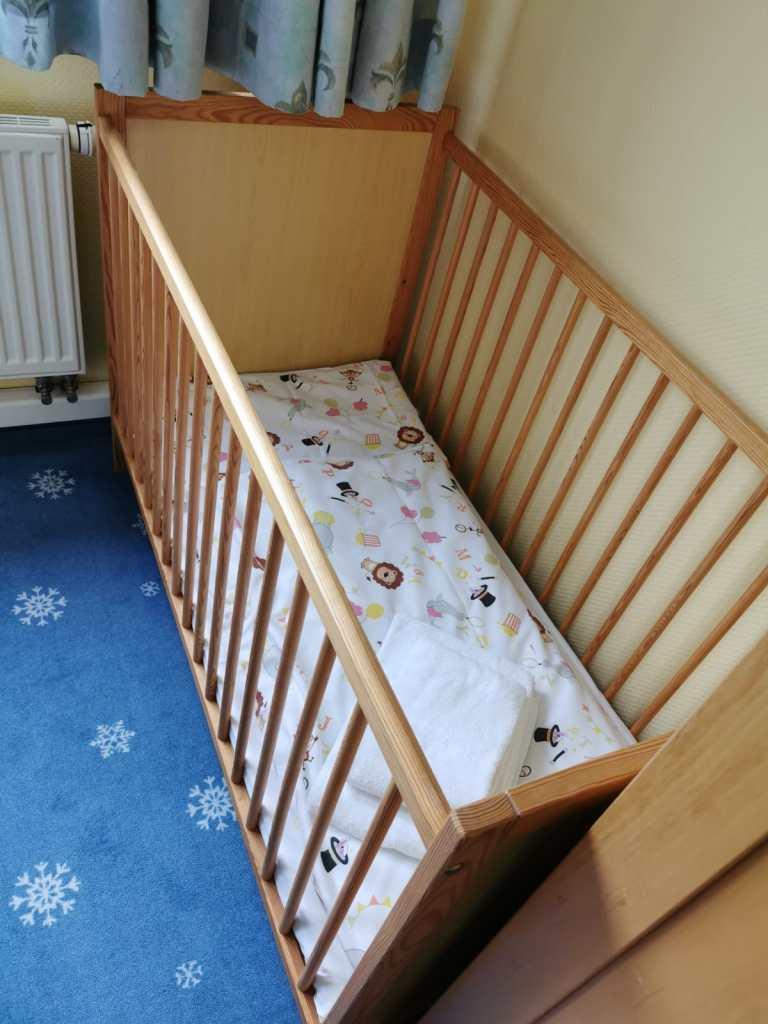 Babybett_Apartment_Elldus_Resort