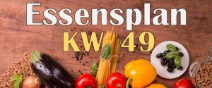 Essensplan – KW 49 – 2020