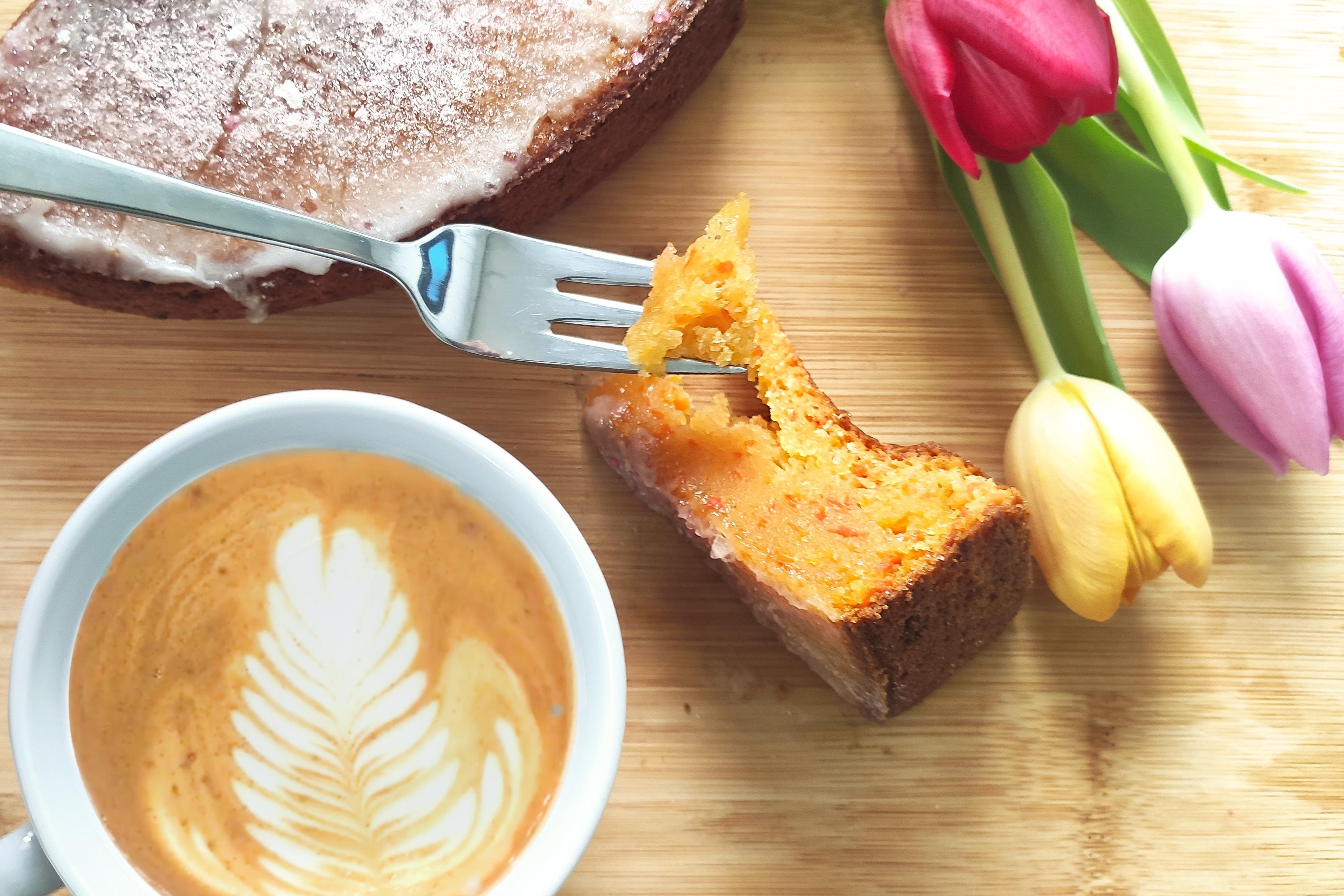 Veganer Karottenkuchen – nicht nur für Ostern ein Hit