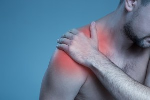 Pain in the shoulder joint