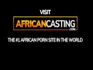 South African Amateur Does First Porn Casting