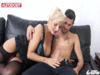 LETSDOEIT - Mature Italian Granny Gets Rough Sex At Porn Casting!
