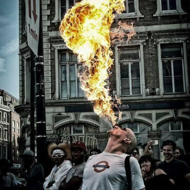 Breathe fire!