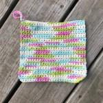 Single Crochet Dishcloth
