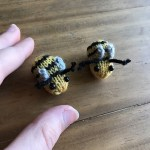 tiny knit bees