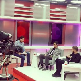 Our interview at TV 21