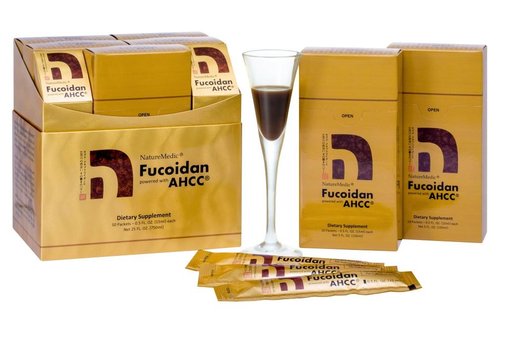 自然醣褐藻糖膠唯一授權添加日本AHCC