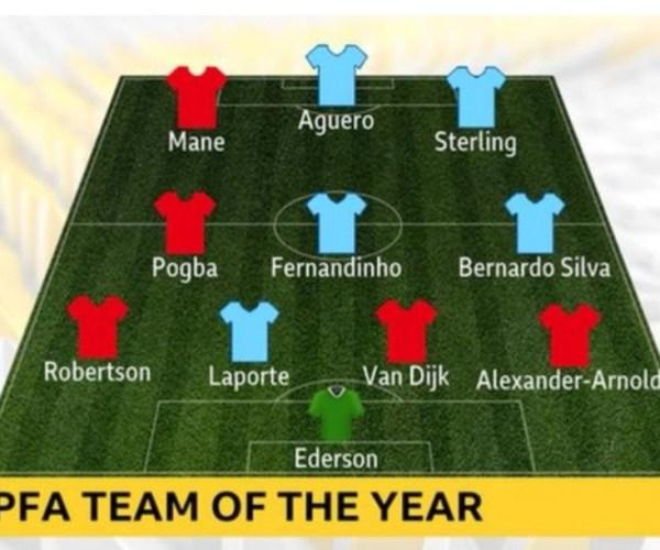 11 najboljih u Premijer Ligi – čak 10 igrača iz Liverpula i Mančester Sitija