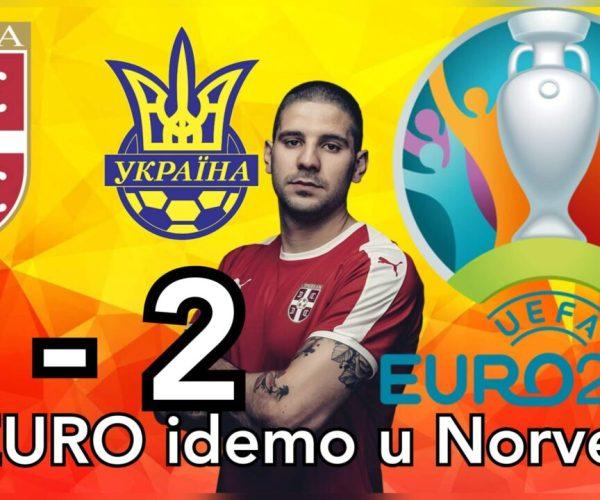 Srbija Ukrajina 2-2 ☆ Greške zasenile dobru igru ☆ EURO2020