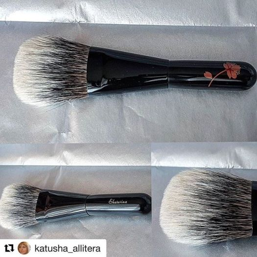 #Repost @katusha_allitera (@get_repost)・・・Exclusive  #brush #japanbrush #kihitsu with white canadian  squirrel now with me. 🤗Thank you #fudejapan_заказы #fudejapan @fudejapanrussia @fudejapan