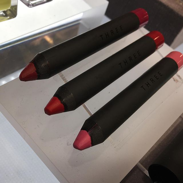 #Three lip crayon