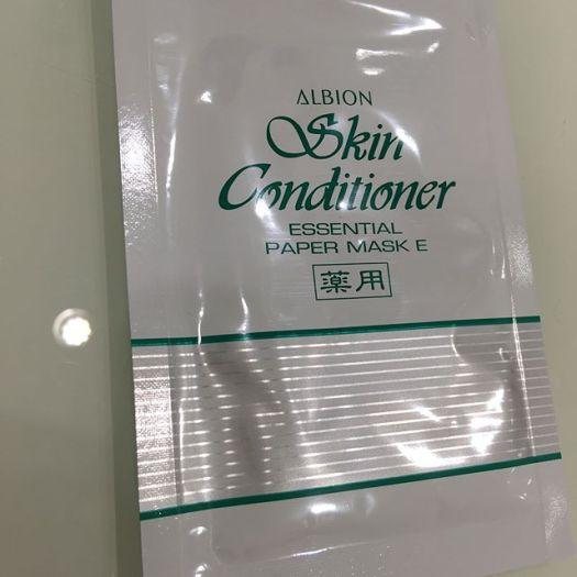 #Albion skin conditioner mask 3564 Yen.