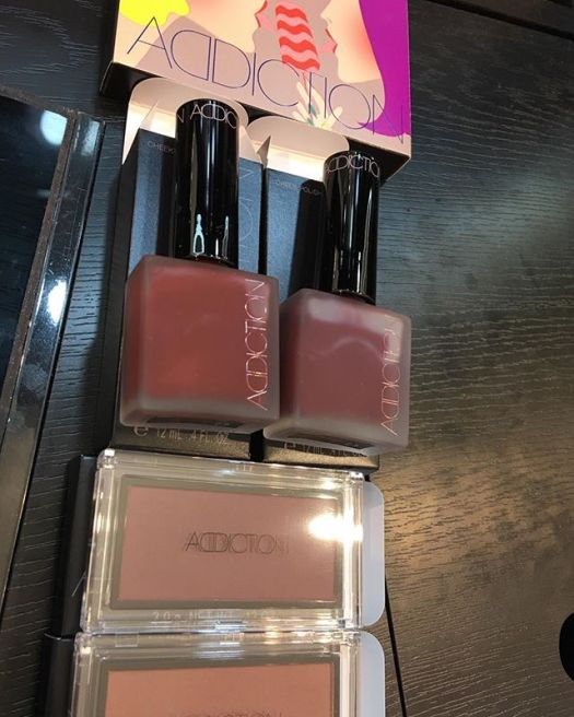 #addiction limited blush and cheek polish