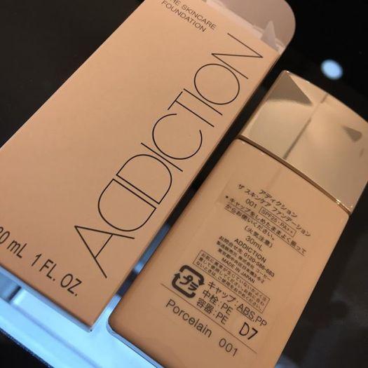 #addiction skincare foundation 001