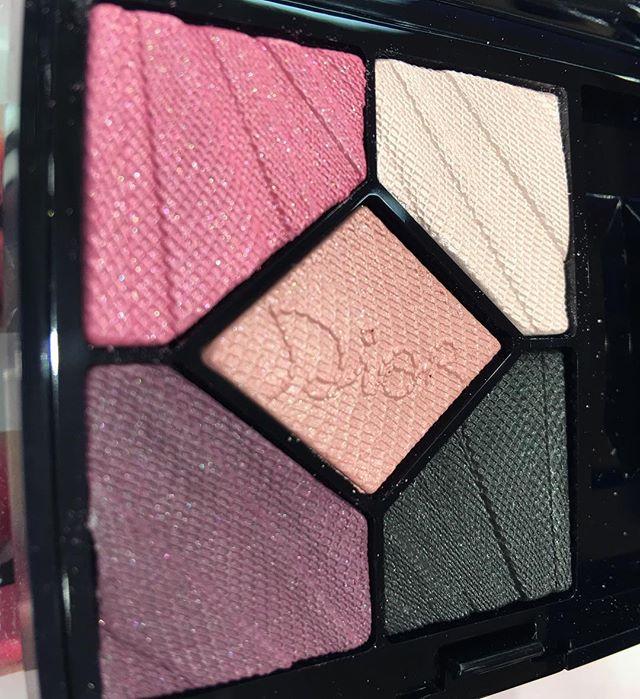 #dior eye palette 667 flirt