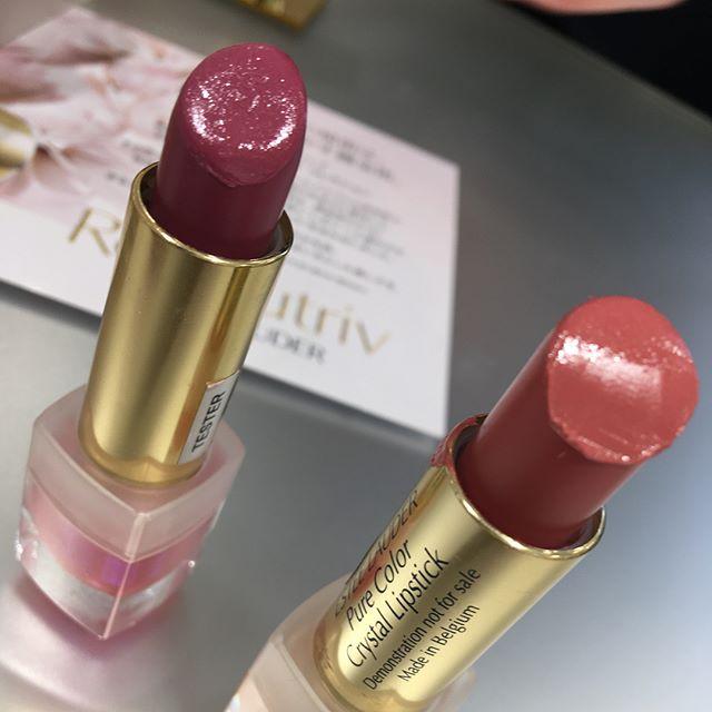 #esteelauder lipstick 01 and 03