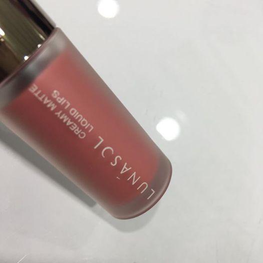 Lunasol Creamy Matte Liquid Lips EX01 (3360 yen )