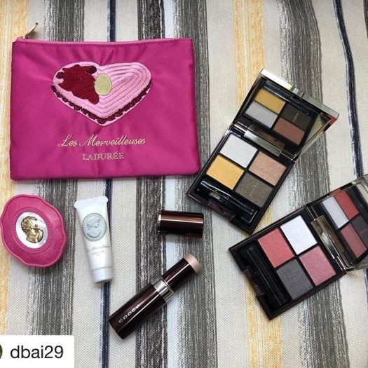 #Repost @dbai29 with @get_repost・・・My amazing collection is here!!!! Look at that burst of yellow in the suqqu palette!!!! Love!!! Thanks to @fudejapan as always!!!!!!!! Super excited!!! #suqqu #suqqueyeshadow #suqqulimitededition #makeupaddict #makeuplover #laduree