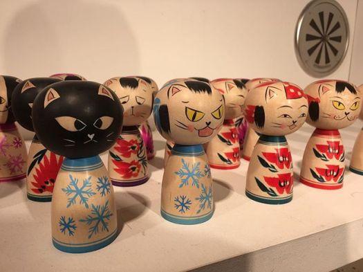 #kokeshi cat