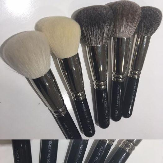 #hakuhodo powder brush