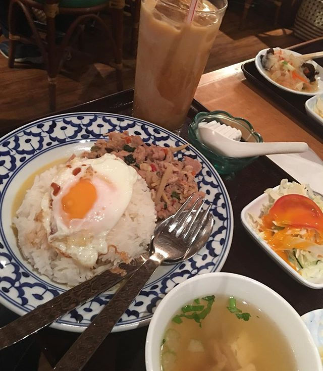 Thai lunch next to #shibuyastation today