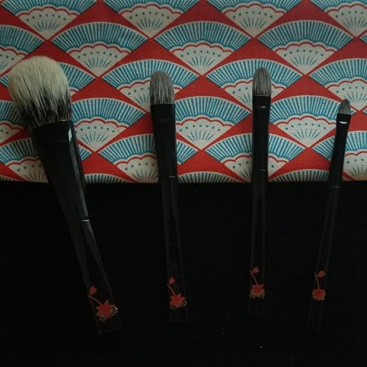 #Kihitsu #Koyudo White Canadian Squirrel Brushes