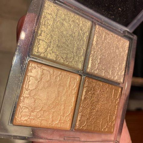 #dior face glow palette