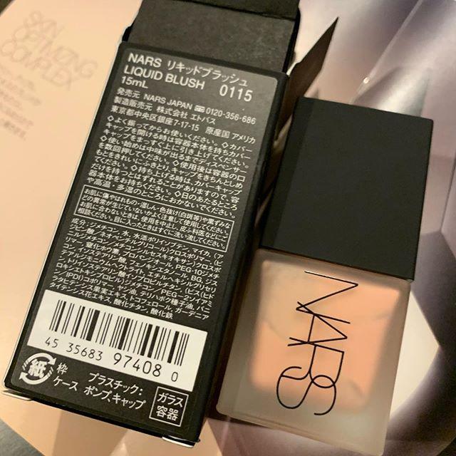 #NARS liquid blush 0115(4440 yen)