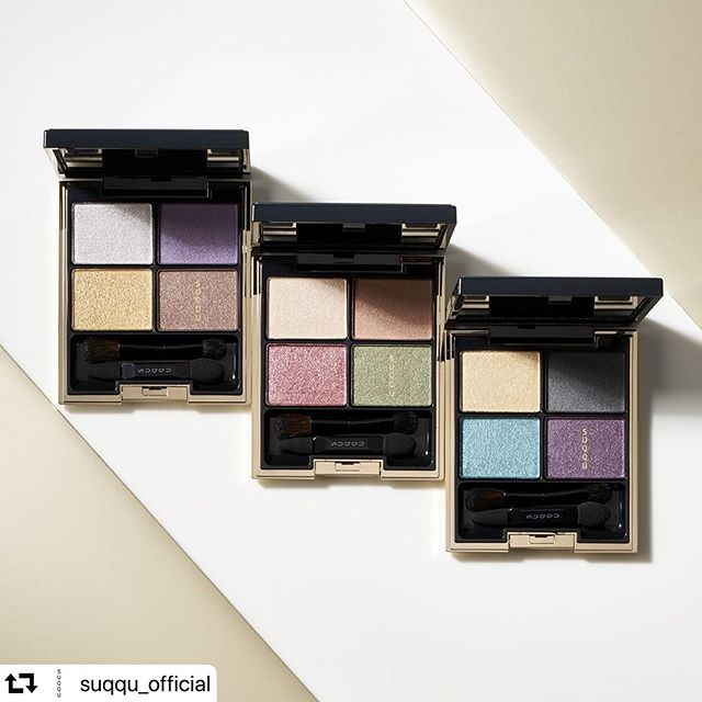 #repost @suqqu_official・・・Dusky colors-sophisticated and languorous,with an iridescent, translucent, lustrous layer on top.Discover the color that's'you'among justthose shades you find in nature. DESIGNING COLOR EYESfrom left13 TSUKIKASUMI / 14 IROURUSHI / 126 AORYUUSEI【limited】#suqqu #スック #2019autumnwinter #cosmetics #jbeauty #eyeshadow #アイシャドウ憂いと洗練のくすみ色に、透明なまばゆい輝きを合わせた4色アイシャドウパレット。肌になじみながら、洗練されたニュアンスを。デザイニング カラー アイズ左から13 月霞 -TSUKIKASUMI / 14 彩漆 -IROURUSHI / 126 蒼流星 -AORYUUSEI【限定色】在憂暗與優雅的色調中,點綴霓彩色和透明光澤。發現屬於自己的嶄新色彩。晶采立體眼彩盤左起13 月霞 -TSUKIKASUMI / 14 彩漆 -IROURUSHI / 126 蒼流星 -AORYUUSEI【限定色】