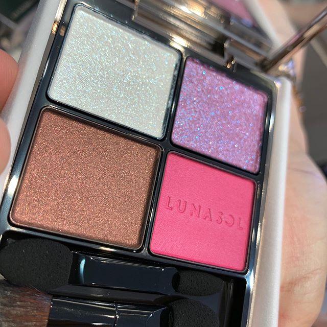 #Lunasol eyeshadow