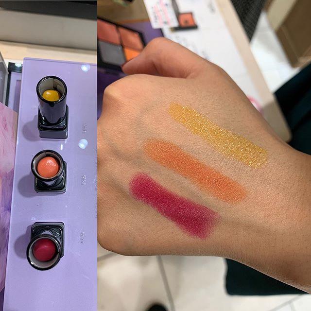 #celvoke lipstick ex 5, 6 7