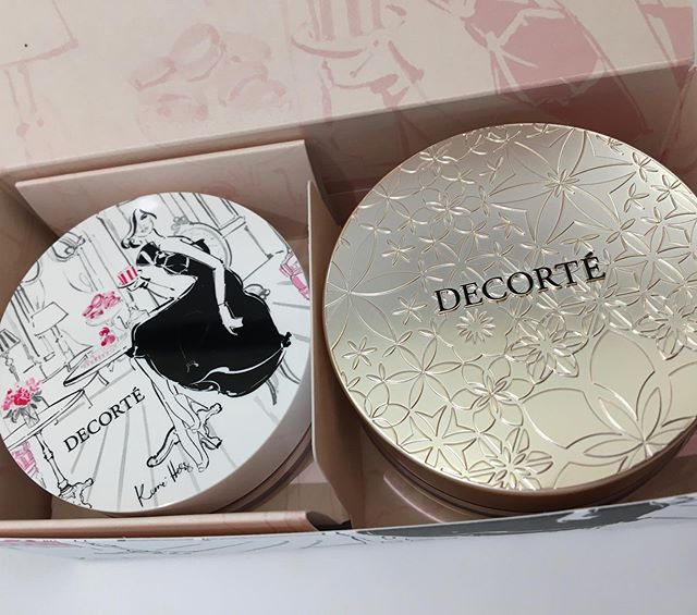 #decorte face powder kit6000 yen