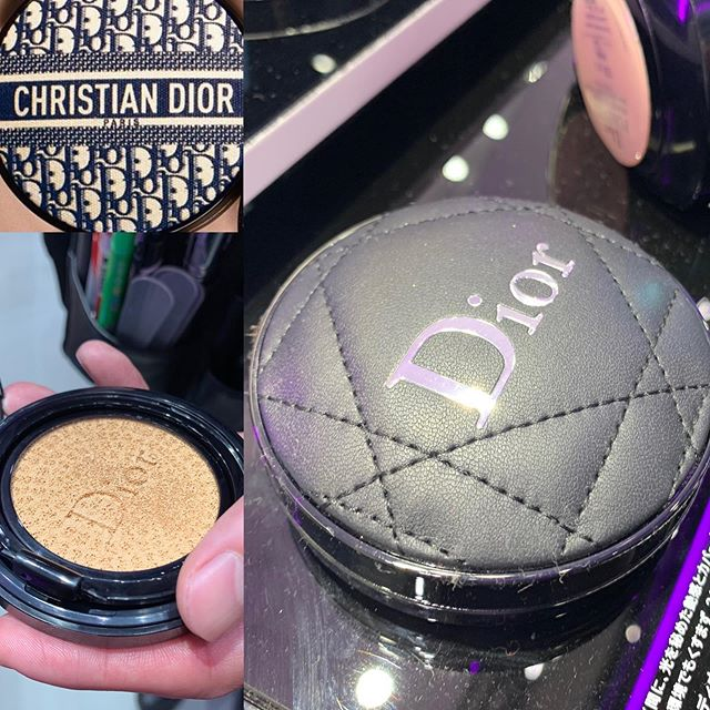 #dior cushion foundation Jan Limited packaging 9720 yen