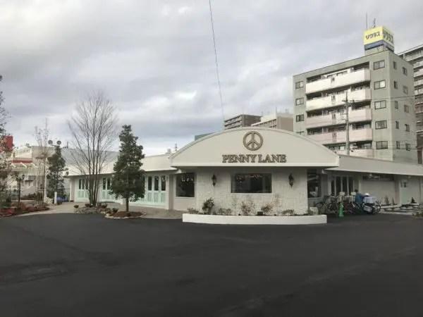 ペニーレイン宿郷入口