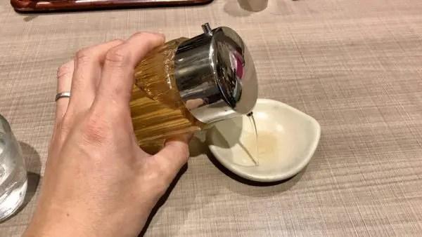 みんみんの餃子のタレ