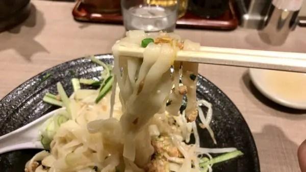 宇都宮みんみんホテルアール・メッツ店じゃじゃ麺を食べる
