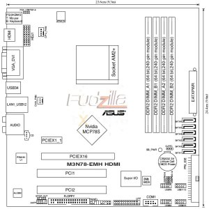 Details on Asus M3N78EMH HDMI board