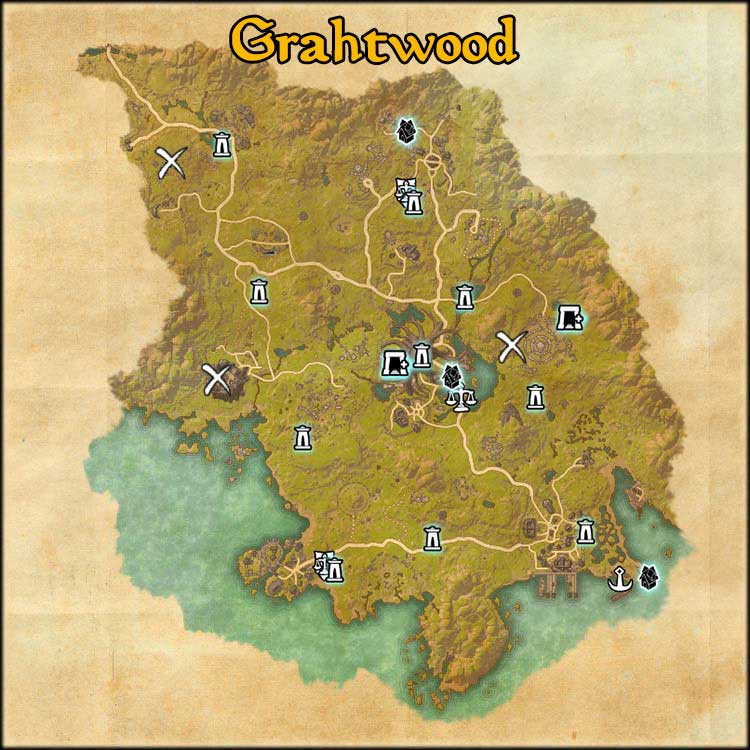 Mapa de Time Rifts de Grahtwood