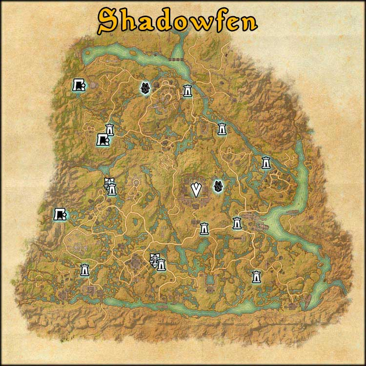Mapa de Fragmentos Baston de Shadowfen