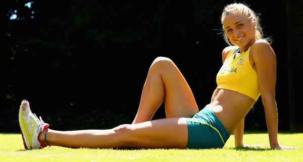Genevieve Lacaze, atleta australiana especializada en 3.000 metros con obstáculos.
