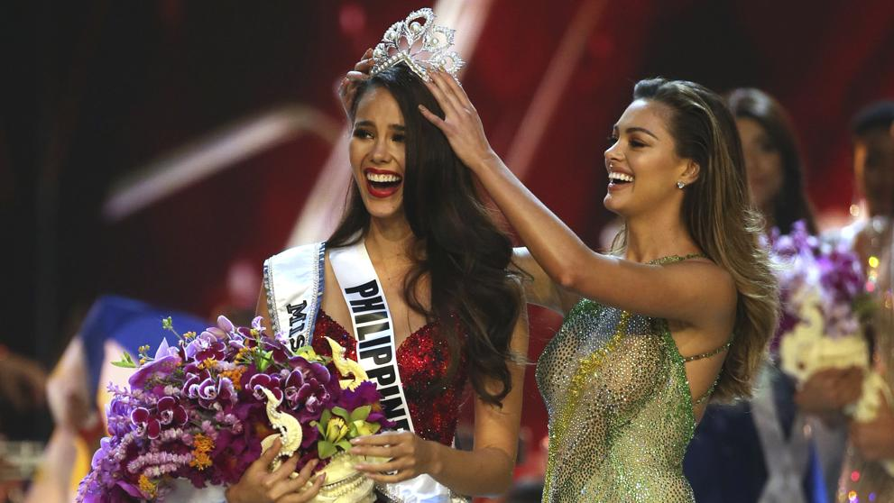 La filipina Catriona Gray, coronada Miss Universo 2018