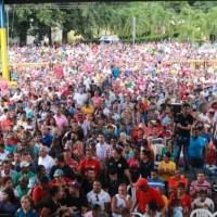Senador Felix Nova concentra a miles en inauguración comando de campaña en Bonao