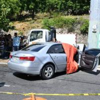 Dos fallecidos en accidente de tránsito en la Cayetano Germosén