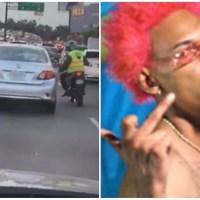 Suspenden agente DIGESETT por flanquear vehículo de Kiko El Crazy